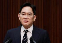 South Korea seeks arrest of Samsung heir in succession probe