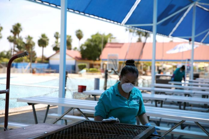 California, Southwest face new coronavirus woes as U.S. economy reopens