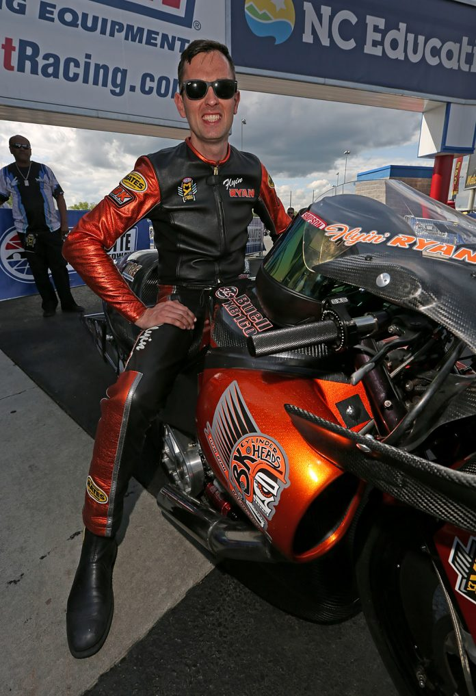 PSM RIDER RYAN OEHLER READY TO COMPETE