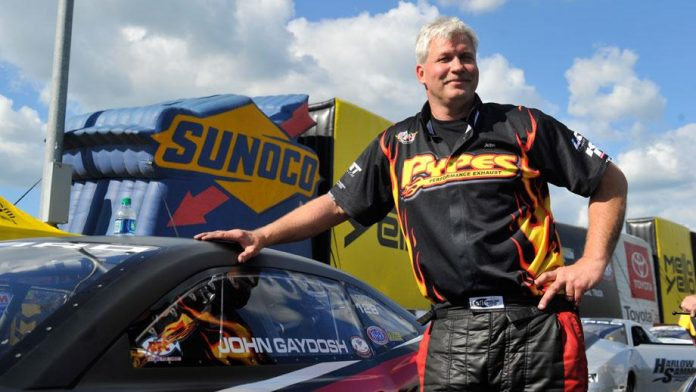 PRO STOCK DRIVER GAYDOSH JR. READY FOR LONG-AWAITED DEBUT WITH NEW TEAM