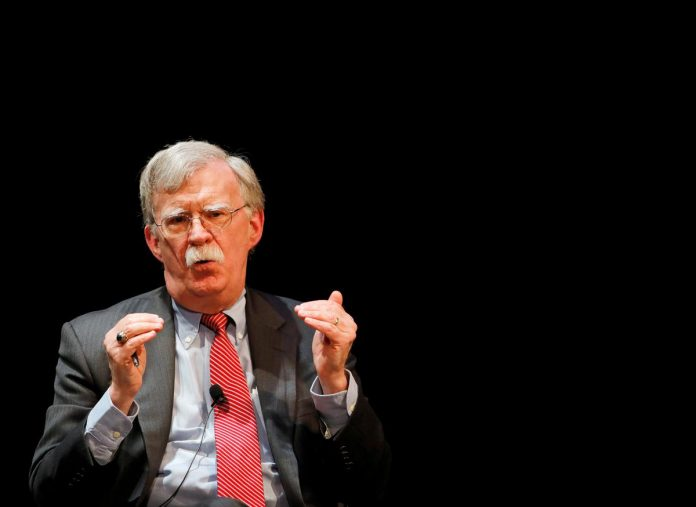 Trump says ex-adviser Bolton will break the law if he publishes book