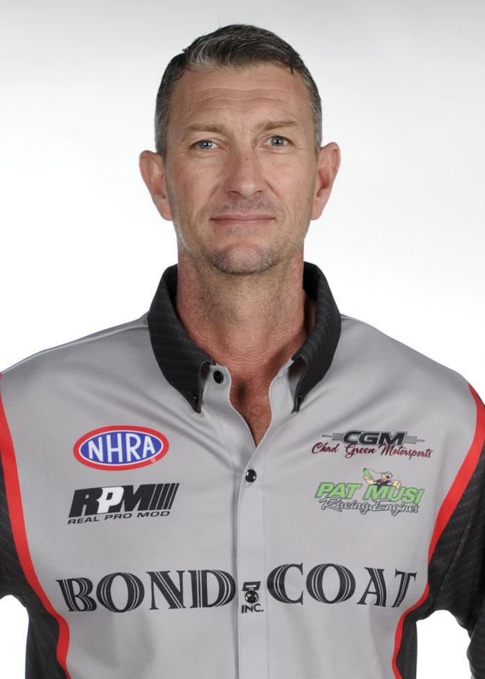 CHAD GREEN TO RACE FUEL FUNNY CAR AT NHRA SUMMERNATIONALS IN INDY
