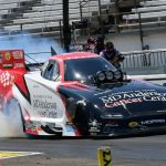 JOHNSON, S. TORRENCE, LINE AND KRAWIEC GRAB NO. 1 SPOTS AS NHRA RETURNS TO ACTION AT INDIANAPOLIS