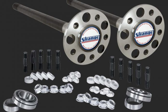 Maximize Rearend Strength With A Pro Race Axle Package From Strange