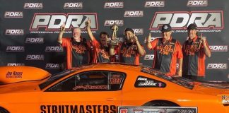 PLUCHINO REVELS IN SECOND PDRA EXTREME PRO STOCK VICTORY