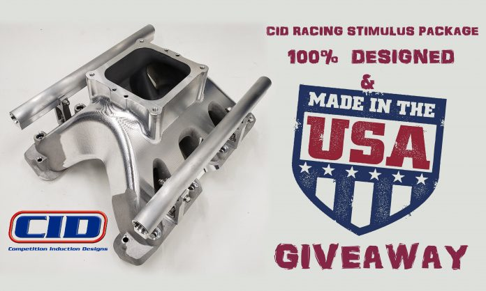 Enter CID's Made In The USA Racing Stimulus Package Giveaway