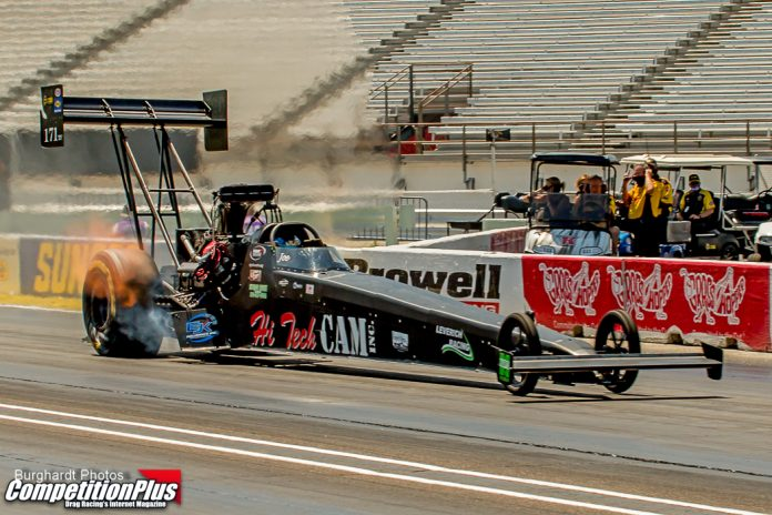 MORRISON PROVIDES TOP FUEL WITH A BREATH OF FRESH AIR, LITERALLY
