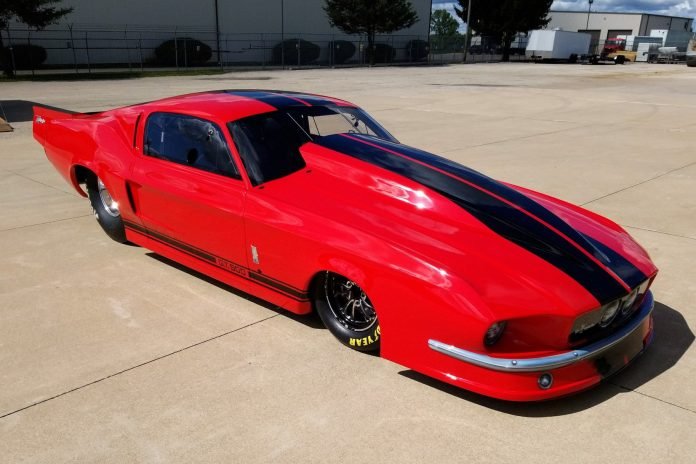 RJ Race Cars Unveils Richard Freeman's New 1967 Pro Mod Mustang