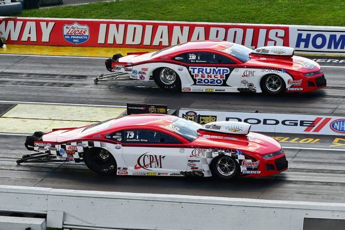 Jonathan Gray Ousts Bo Butner In All-Musi Indy Pro Mod Finale