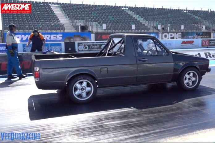 Mike Whittaker's 9-Second AWD VW Caddy