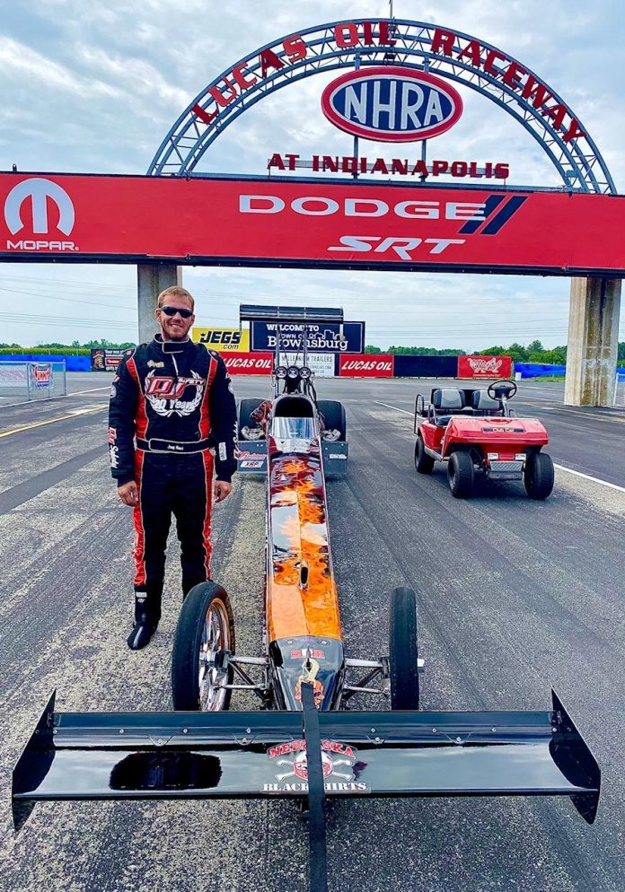 JOEY HAAS TO MAKE TOP FUEL DEBUT AT U.S. NATIONALS
