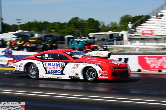 NHRA CRACKS DOWN ON POLITICAL CAMPAIGNS ON RACE CARS