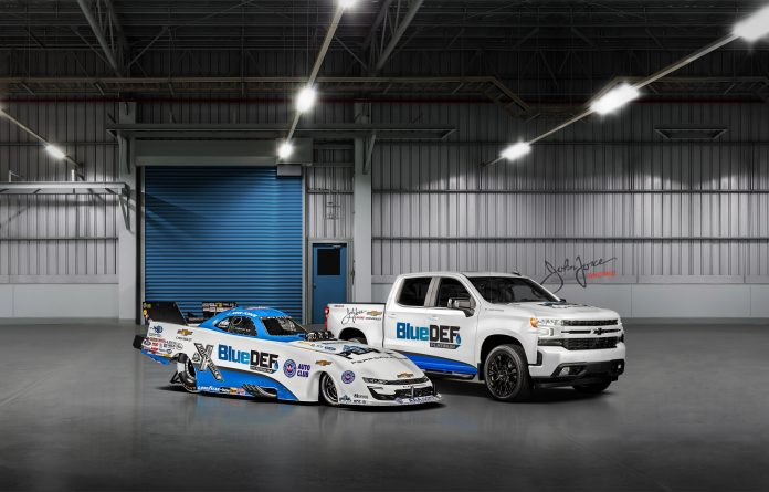 BlueDEF, John Force Racing, And Chevrolet To Give Away '20 Silverado