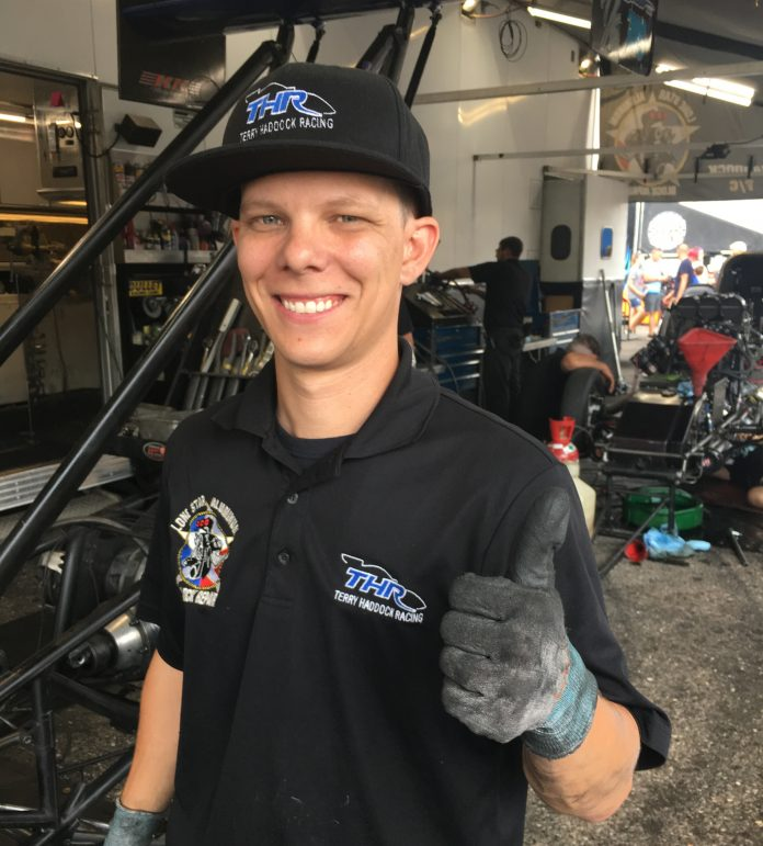 CAMERON FERRE PINCH-HITTING IN TOP FUEL THIS WEEKEND AT U.S. NATIONALS