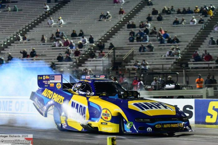CAPPS, LANGDON, ANDERSON, A. SMITH PROVISIONAL NO. 1 QUALIFIERS AFTER FIRST NIGHT AT U.S. NATS