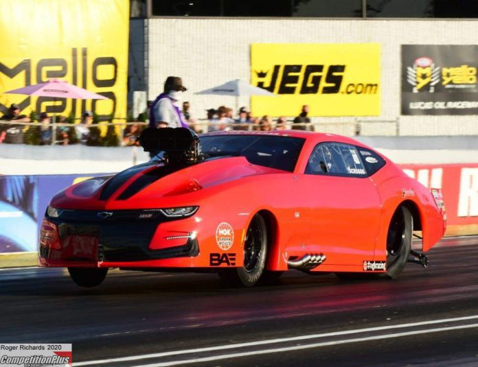 SCRUGGS EMERGES AS PRO MOD PROVISIONAL NO. 1 AT NHRA U.S. NATS