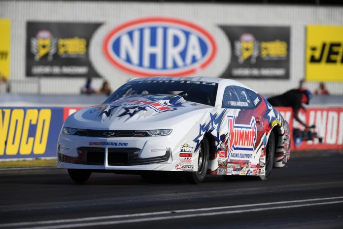 Exciting Saturday Sets Qualified Fields For NHRA U.S. Nationals