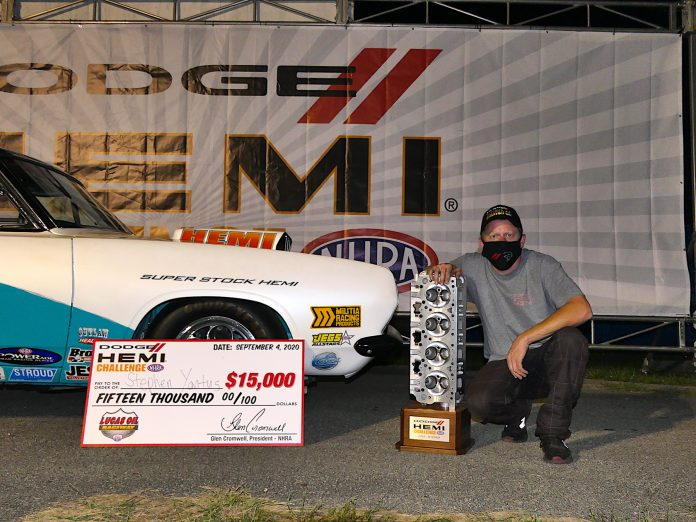 A New King Crowned In Super Stock Dodge HEMI Challenge At Indy