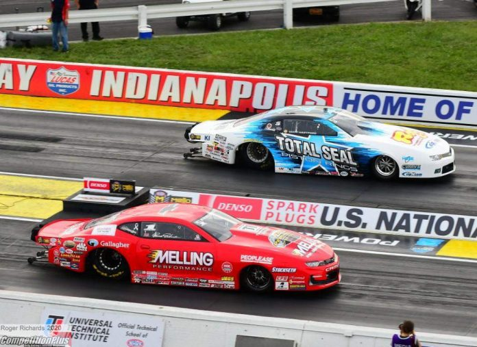PRO STOCK WORLD CHAMP ERICA ENDERS WINS SECOND CAREER U.S. NATIONALS