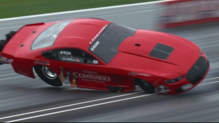 AEROMOTIVE FOUNDER REGEARS FOR THE REMAINDER OF NHRA PRO MOD SEASON FOLLOWING INDY WRECK