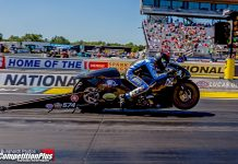 PSM RIDER CORY REED MADE SURPRISE APPEARANCE AT U.S. NATIONALS