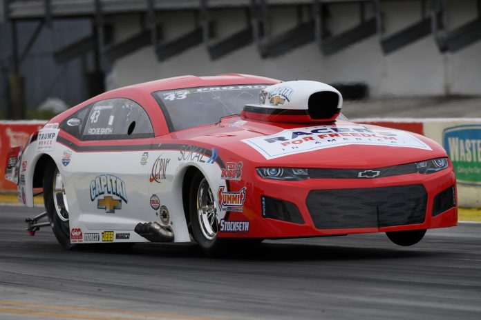 MULTI-TIME WORLD CHAMP RICKIE SMITH CLAIMS FIRST NHRA PRO MOD WIN OF 2020 AT GAINESVILLE