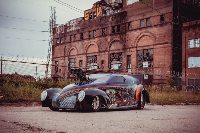 Gary and Bryon Rusich's 1939 Zephyr Pro Mod