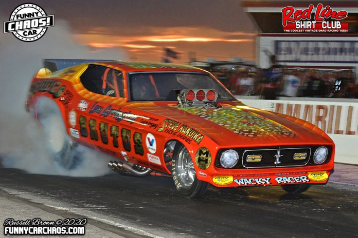 FUNNY CAR CHAOS UPS PAYOUTS FOR WORLD FINALS THIS WEEKEND