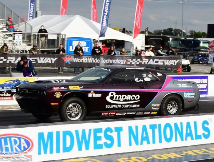 PAWUK HEADLINES FAST FIRST DAY AT NHRA MIDWEST NATIONALS