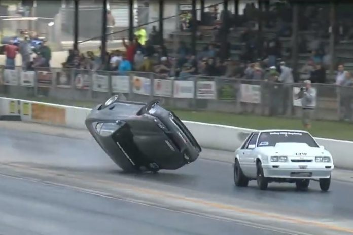 Kevin McMullin Jumps The Wall At The NMRA World Finals