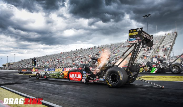 Top Fuel's McMillen Racing And Amalie Motor Oil Suspend Relationship