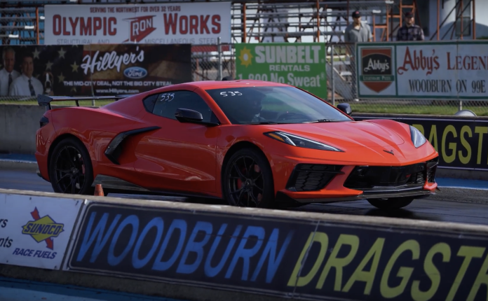 ETS's Turbocharged C8 Corvette Is The First In The 9s