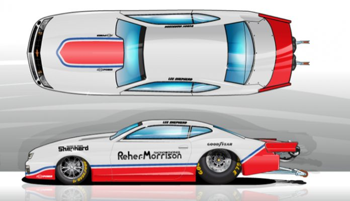 REHER-MORRISON-SHEPHERD SCHEME TO FLY THIS WEEKEND IN NHRA PRO STOCK