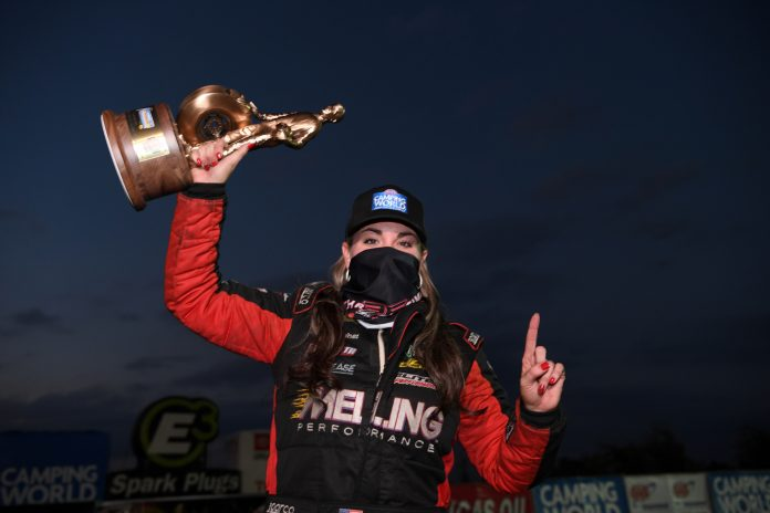 ENDERS AND M. SMITH WIN DELAYED MIDWEST NATIONALS, S. TORRENCE, HAGAN, KRAMER AND M. SMITH QUALIFY NO. 1 AT FALLNATIONALS