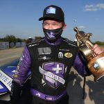 BECKMAN WINS DALLAS FUNNY CAR, EDGES CLOSER TO POINTS LEADER HAGAN