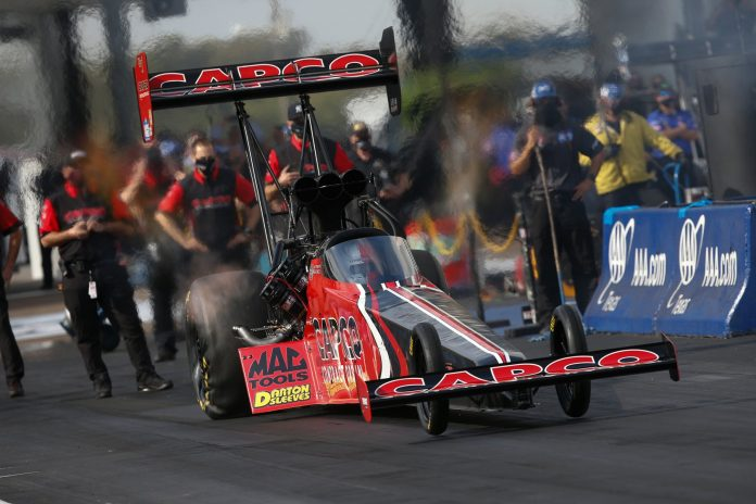 Torrence, Beckman, Hartford, And Savoie Win NHRA FallNationals