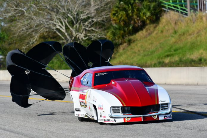 JUSTIN BOND ROLLS TO FIRST CAREER VICTORY IN NHRA PRO MOD DRAG RACING