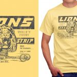 Malibu Shirts Reveals New Lions Drag Strip Vintage T-Shirts