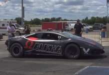 The AMS Performance Alpha Omega Drag Huracan