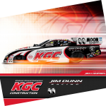 KINDNESS GENERAL CONTRACTORS HIGHLIGHTS NHRA SEASON FINALE FOR JIM DUNN RACING