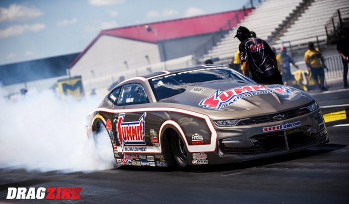 Pro Stock's Coughlin, Line Enter Their Farewell Race In Dead-Heat