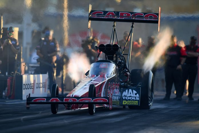 B. TORRENCE, CAPPS, ANDERSON, KRAWIEC QUALIFY NO. 1 AS NHRA CHAMPIONSHIP SUNDAY APPROACHES
