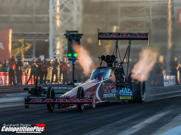 BILLY TORRENCE EDGES SON TO TAKE NO. 1 IN VEGAS