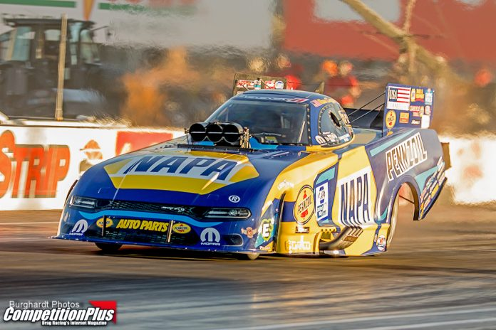 CAPPS GOES NO. 1 FOR FIRST FIRST TIME THIS SEASON AT NHRA FINALS