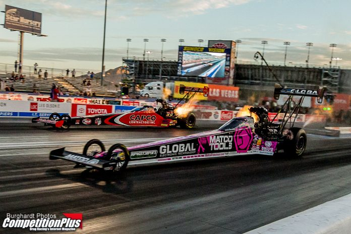 BROWN BREAKS 42-RACE DROUGHT, GIVES DSR 67TH NITRO DOUBLE