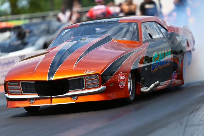 STRICKLAND PULLS A DRAG RACING CHAMPIONSHIP INTO HIS CORNER