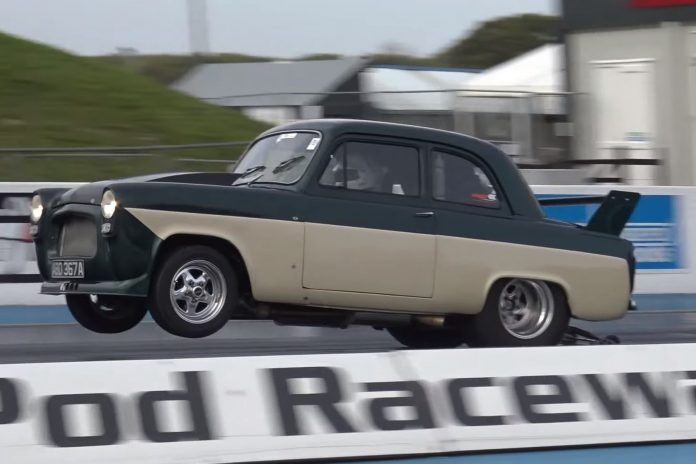 Garth Wong's 8-Second LS Powered Ford 100e